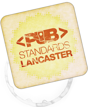 pubstandards coaster logo